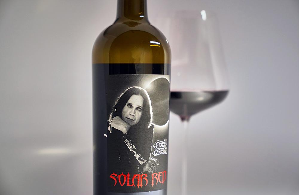 Solar Red Ozzy Osbourne Moonstock