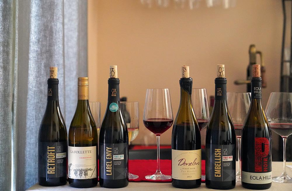 Blind Taste Test Replica Wines