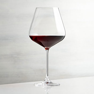 Hip Large Red Wine Glass from Crate and Barrel