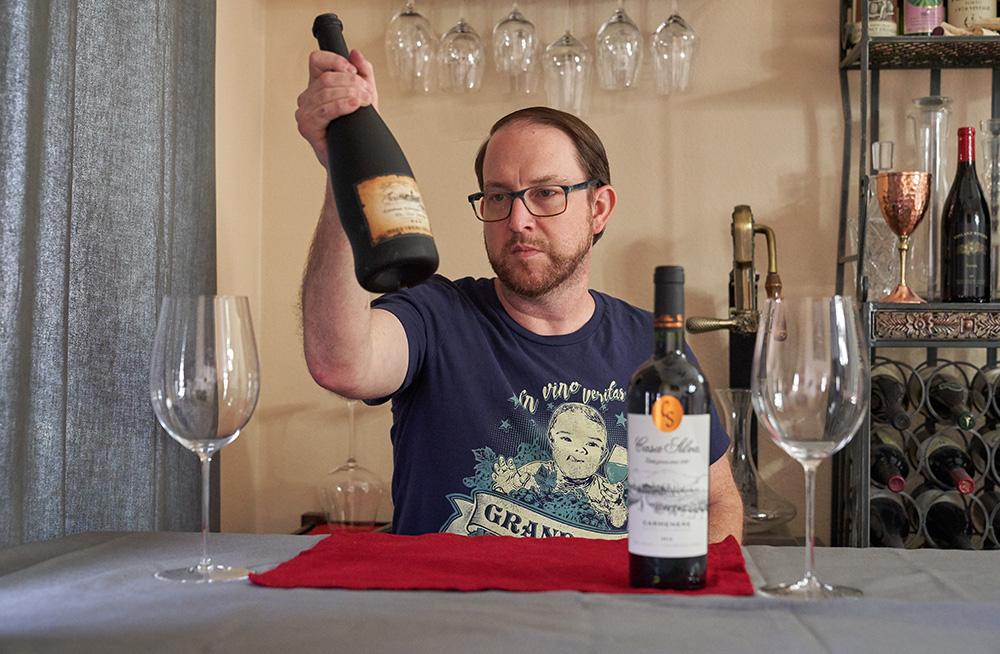 Ryan Vinson compares Cabernet Gernischt to Carmenere