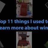 Top 11 things I used to learn more about wine