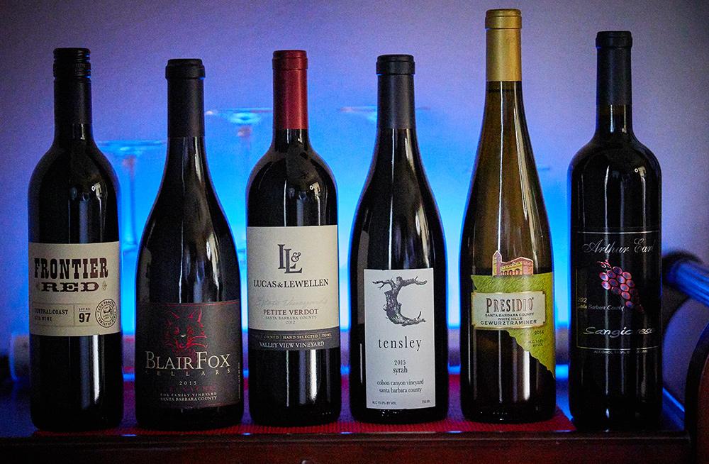 Wines From Los Olivos & Solvang