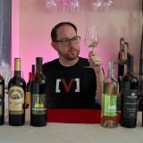 Ryan tasting Los Angeles wines