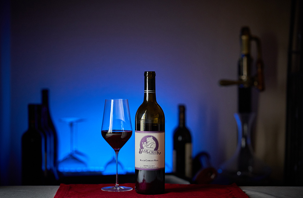 Black Currant Wine Bear Creek Winery