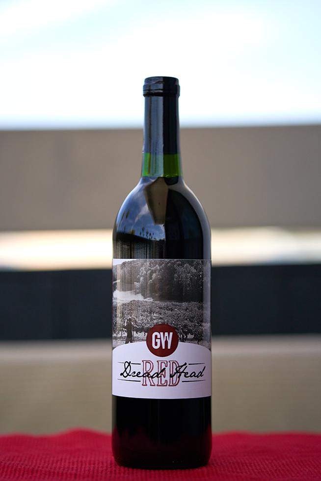 Georgia Winery Dread Head Red