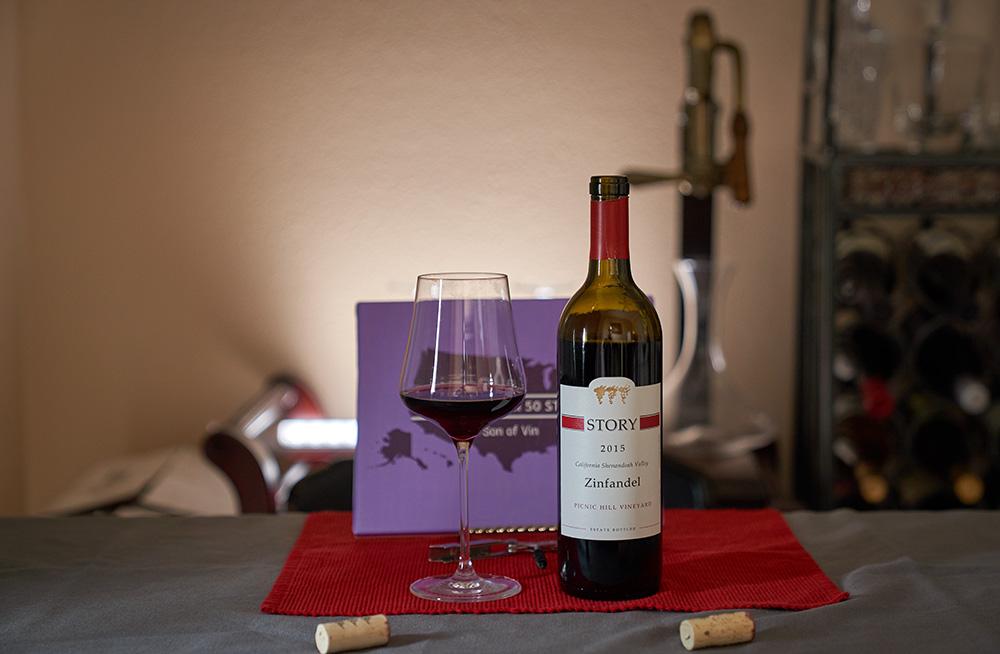 Story Winery Zinfandel Wine