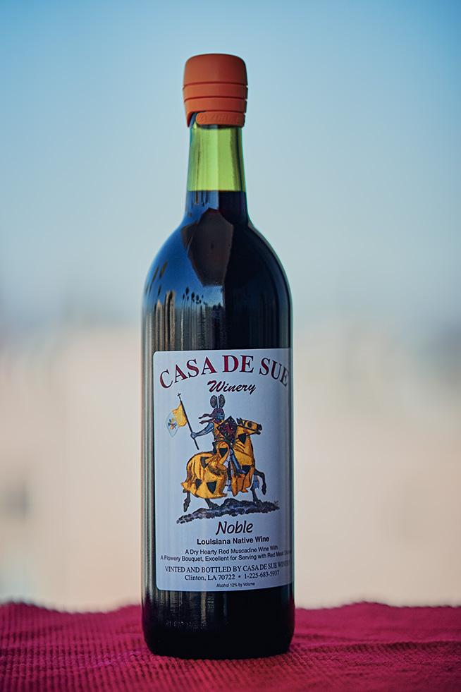Casa de Sue Noble Muscadine Wine