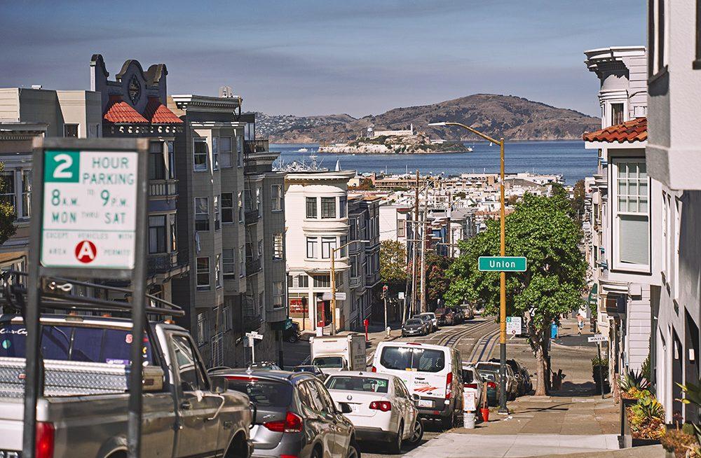 San Francisco Fishermans Wharf Alcatraz