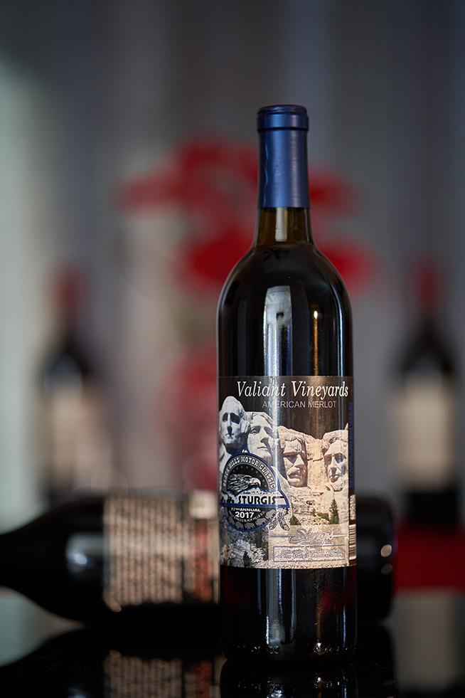 Valiant Vineyards Sturgis Merlot