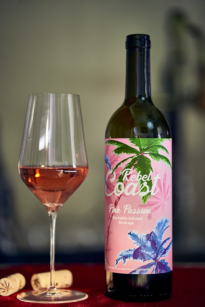 Rebel Coast Winery Pink Passion