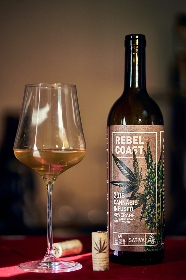 Rebel Coast Winery Sauvignon Blanc 2018