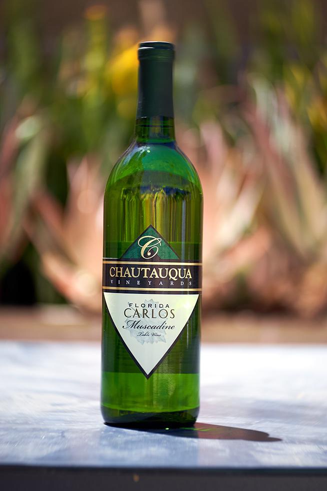 Chautauqua Winery Carlos muscadine