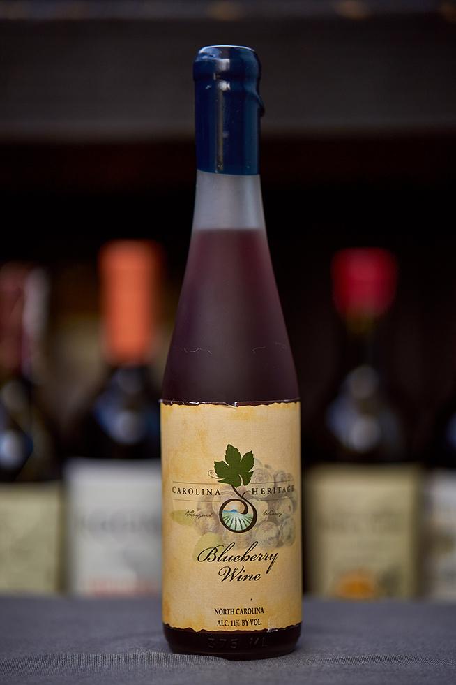 Carolina-Heritage Winery Blueberry Wine