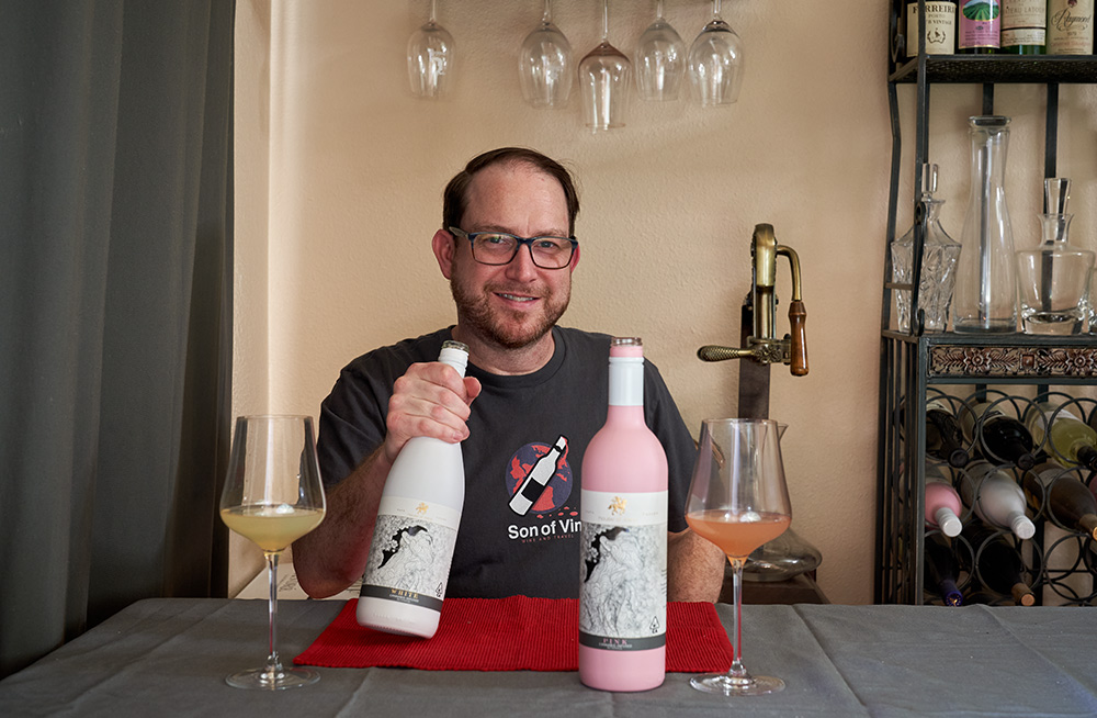 Cannabis infused wines by House of Saka
