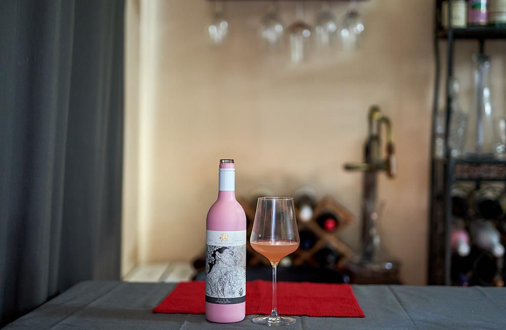 House of Saka Pink Wine