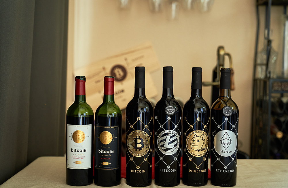 Bitcoin Crypto and the future of wine