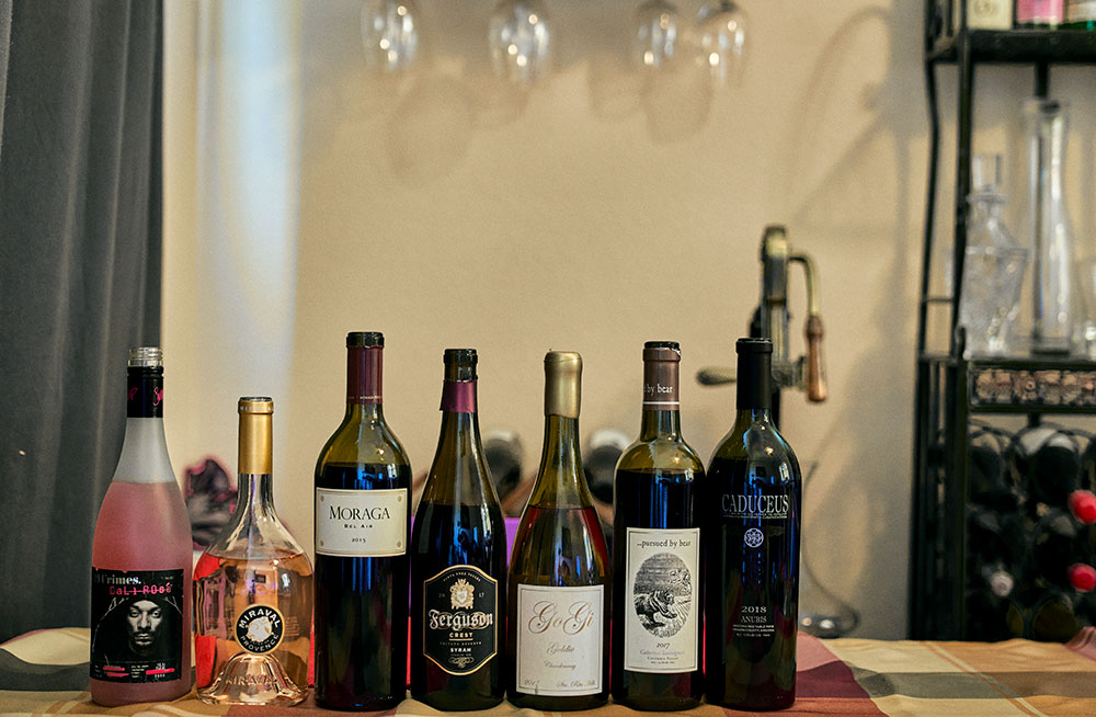 Celebrity and Wines